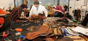 atelier sellerie Ecole des Haras