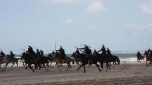 Garde Républicaine sur la plage...