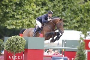 Gregory Whatelet et Conrad à Paris, sautent sans bride!