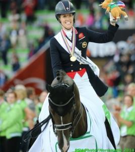 Charlotte Dujardin Médaille d'or GPS