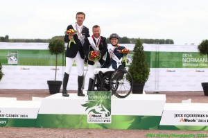 Podium Para Dressage groupe Ib