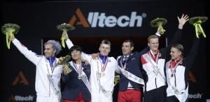 Voltige médaillés