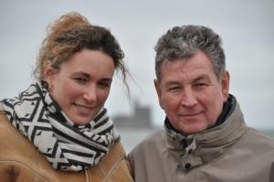 Anne-Sophie et Richard Levallois